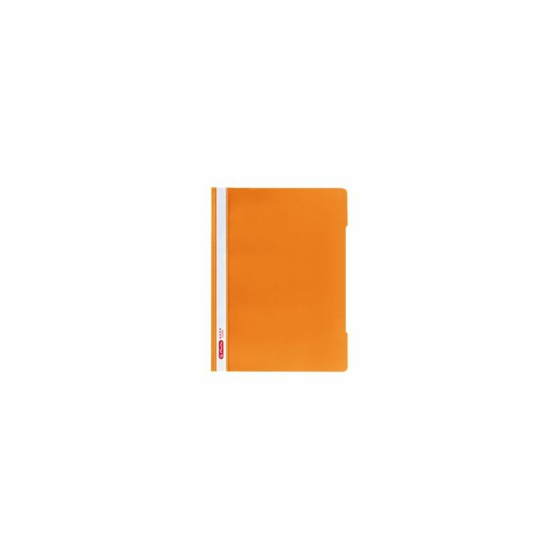 Herlitz Schnellhefter 'Quality' · DIN A4 · orange