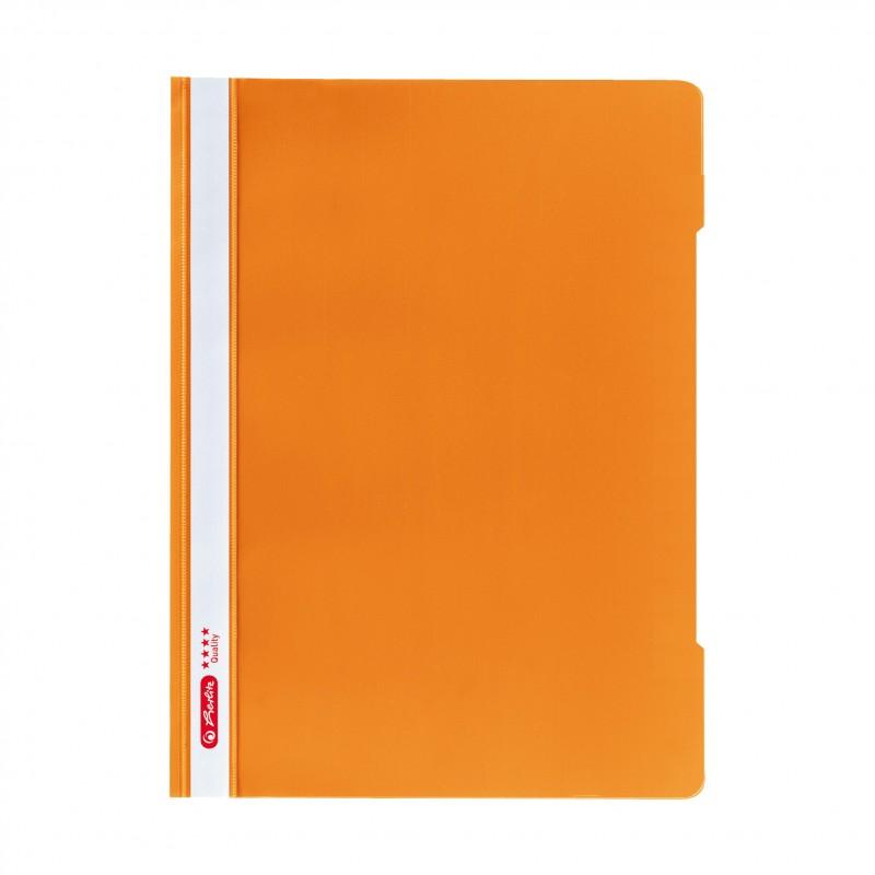 Herlitz Schnellhefter 'Quality' · DIN A4 · orange