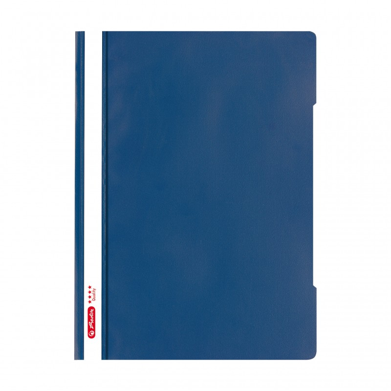 Herlitz Schnellhefter 'Quality' · DIN A4 · blau