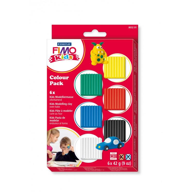 STAEDTLER® Modelliermasse FIMO® kids Colour pack - basic