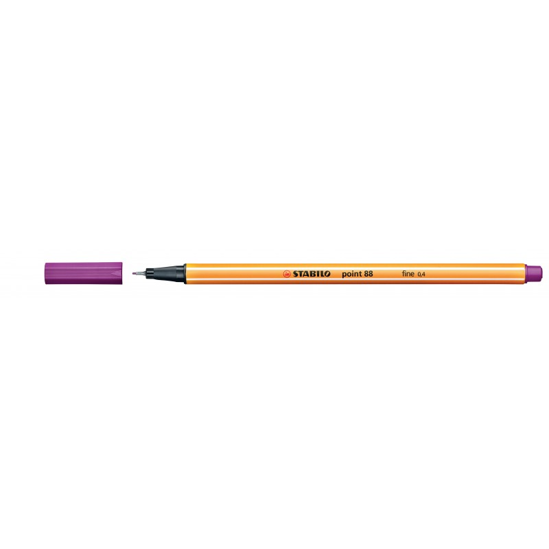 STABILO® Fineliner STABILO® point 88® · 0,4 mm · orange