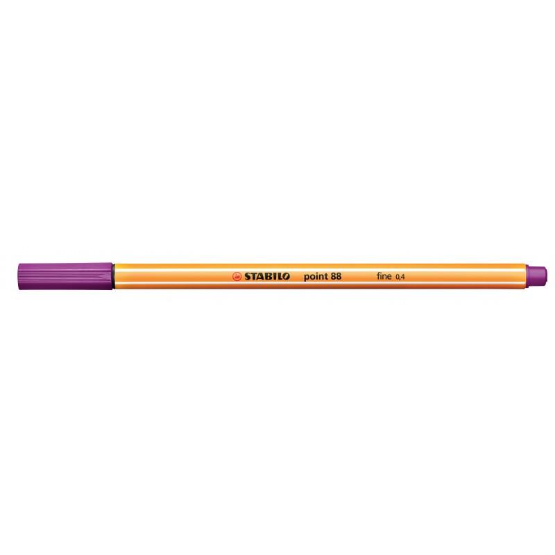 STABILO® Fineliner STABILO® point 88® · 0,4 mm · orange