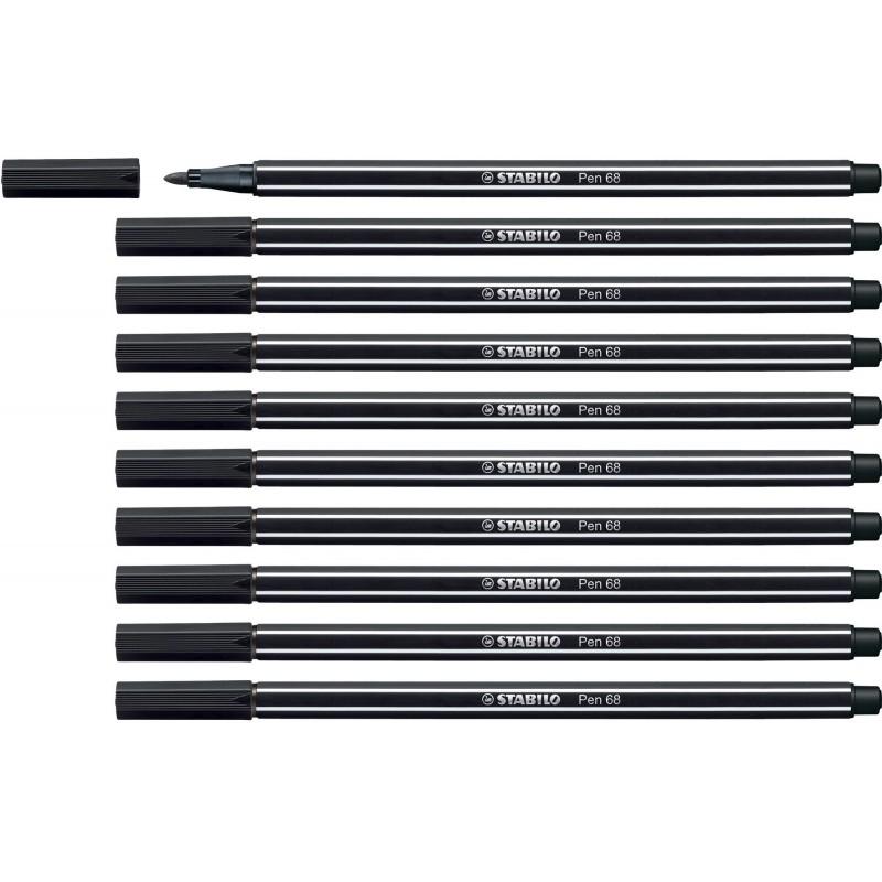 STABILO® Premium-Filzstift STABILO® Pen 68 · schwarz