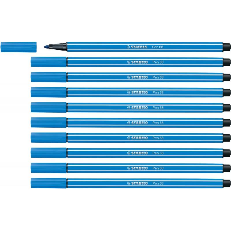 STABILO® Premium-Filzstift STABILO® Pen 68 · dunkelblau