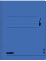 BRUNNEN Schnellhefter · DIN · A4 FACT!plus · Pappe extrastark 375g/m² · blau