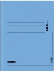 BRUNNEN Schnellhefter · DIN · A4 FACT!plus · Pappe extrastark 375g/m² · hellblau