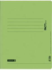 BRUNNEN Schnellhefter · DIN · A4 FACT!plus · Pappe extrastark 375g/m² · hellgrün