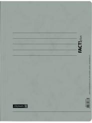 BRUNNEN Schnellhefter · DIN · A4 FACT!plus · Pappe extrastark 375g/m² · grau