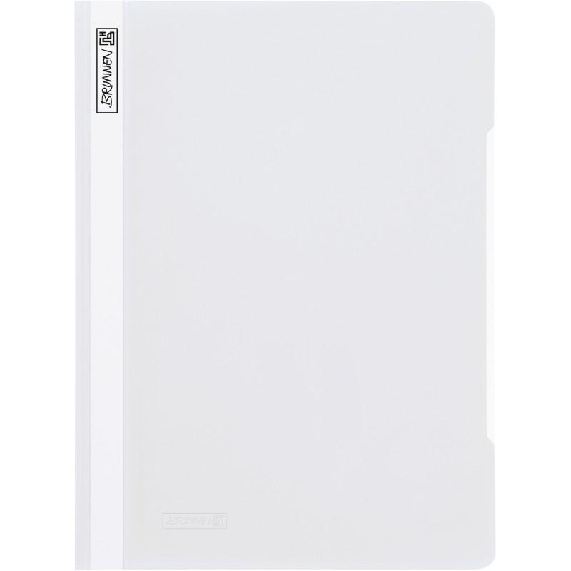 BRUNNEN Schnellhefter · DIN A4 · PVC · quality · weiß