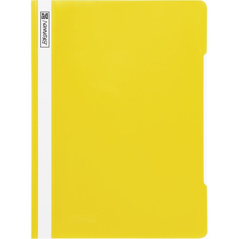 BRUNNEN Schnellhefter · DIN A4 · PVC · quality · gelb