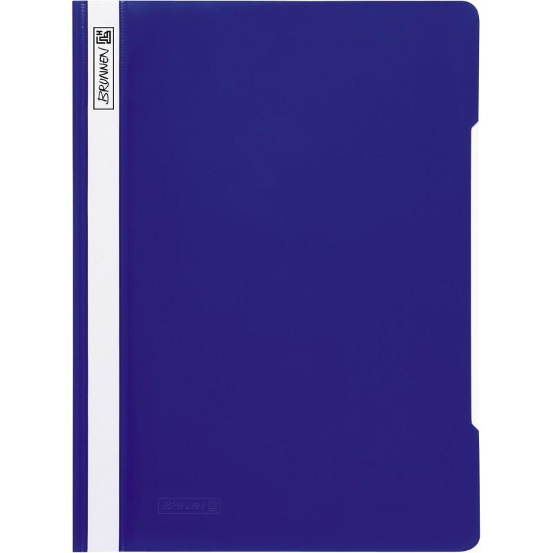 BRUNNEN Schnellhefter · DIN A4 · PVC · quality · blau