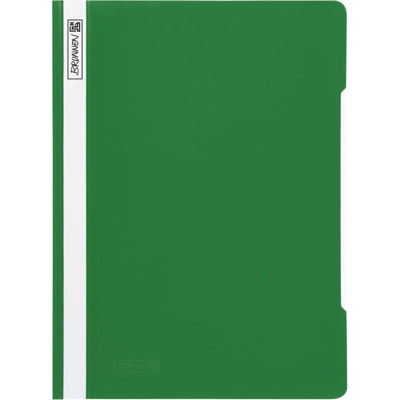 BRUNNEN Schnellhefter · DIN A4 · PVC · quality · grün