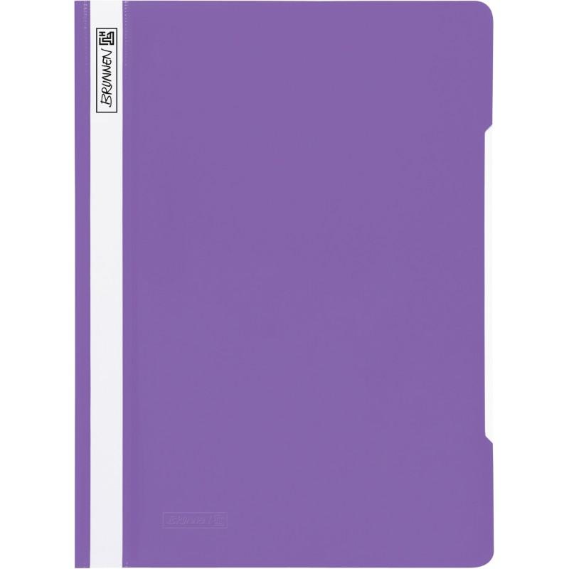 BRUNNEN Schnellhefter · DIN A4 · PVC · quality · violett