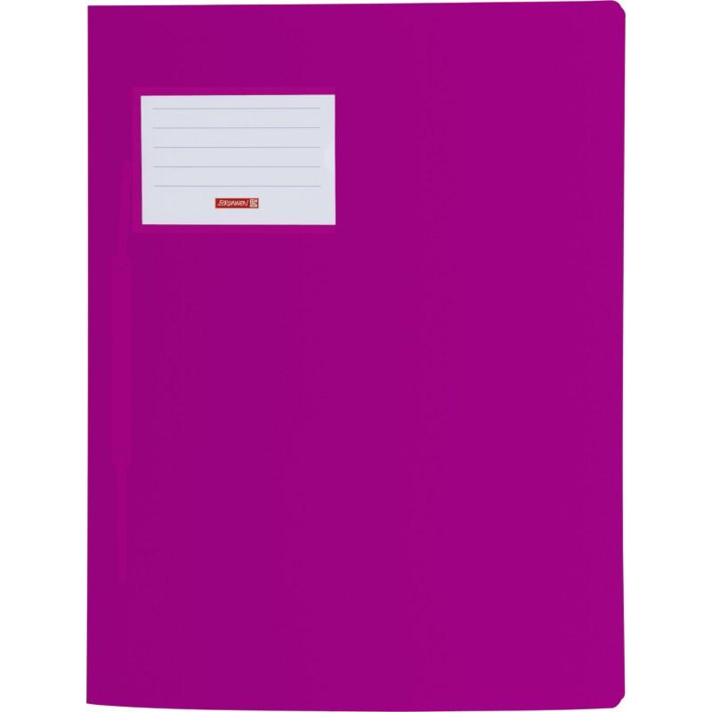 BRUNNEN Schnellhefter · DIN A4 · FACT! PP-Folie · extrastark · pink