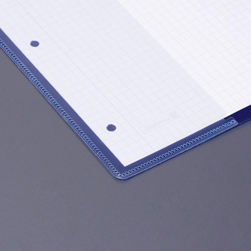 BRUNNEN Schnellhefter · DIN A4 · FACT! PP-Folie · extrastark · blau