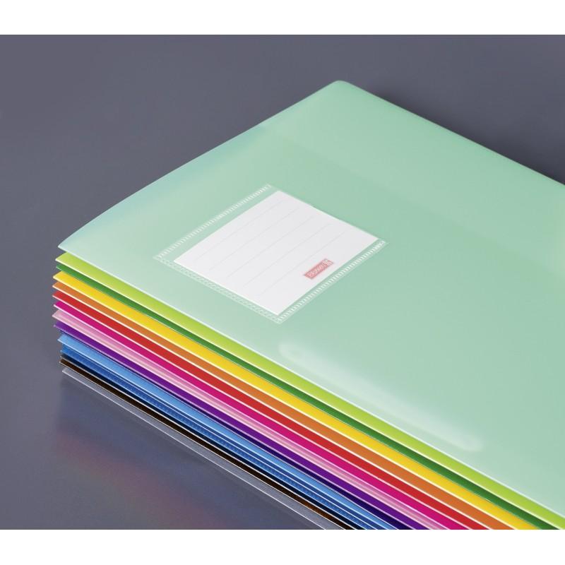 BRUNNEN Schnellhefter · DIN A4 · FACT! PP-Folie · extrastark · azur