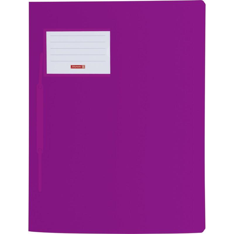 BRUNNEN Schnellhefter · DIN A4 · FACT! PP-Folie · extrastark · violett