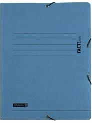 BRUNNEN Jurismappe FACT! · DIN A4 · mit Gummizug · blau