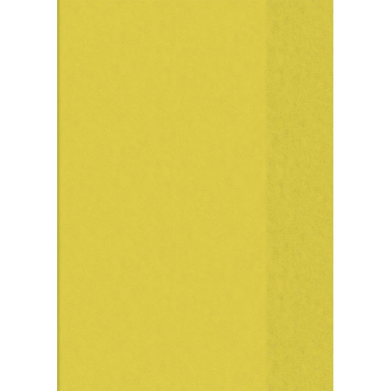 BRUNNEN Hefthülle · DIN A5 · transparent · gelb