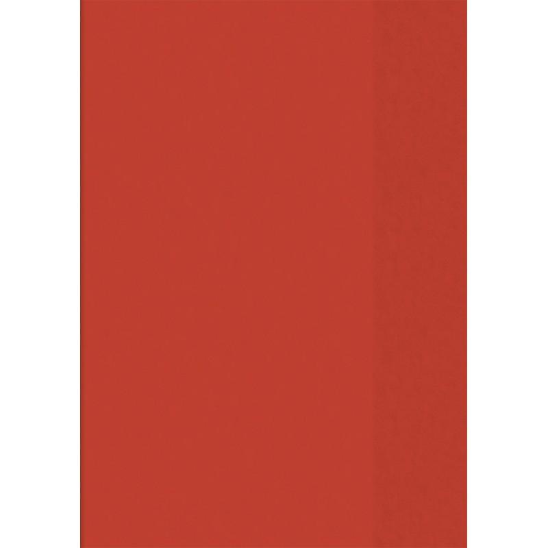 BRUNNEN Hefthülle · DIN A5 · transparent · rot