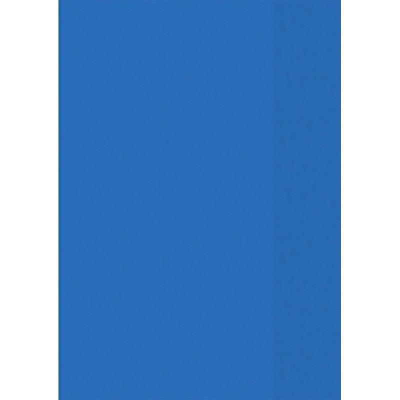 BRUNNEN Hefthülle · DIN A5 · transparent · blau