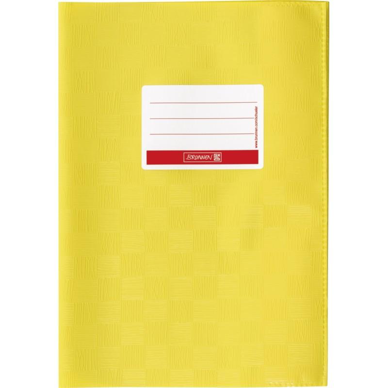BRUNNEN Hefthülle · DIN A4 · gedeckt · gelb