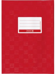 BRUNNEN Hefthülle · DIN A4 · gedeckt · rot