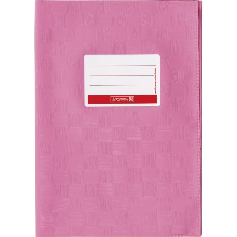 BRUNNEN Hefthülle · DIN A4 · gedeckt · rosa