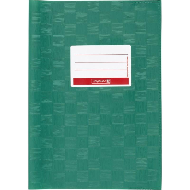 BRUNNEN Hefthülle · DIN A4 · gedeckt · dunkelgrün