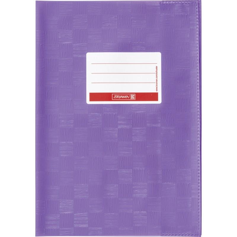 BRUNNEN Hefthülle · DIN A4 · gedeckt · violett lila