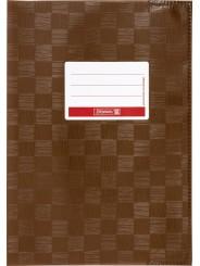 BRUNNEN Hefthülle · DIN A4 · gedeckt · braun
