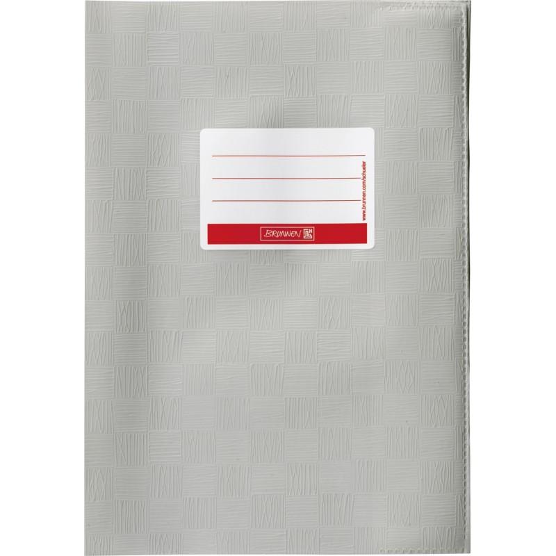 BRUNNEN Hefthülle · DIN A4 · gedeckt · grau