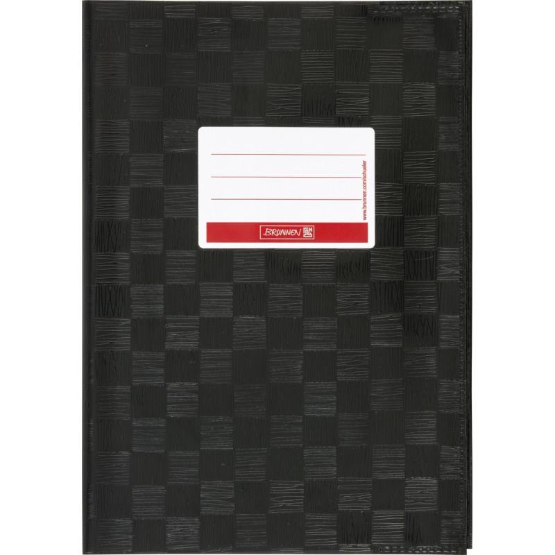 BRUNNEN Hefthülle · DIN A4 · gedeckt · schwarz