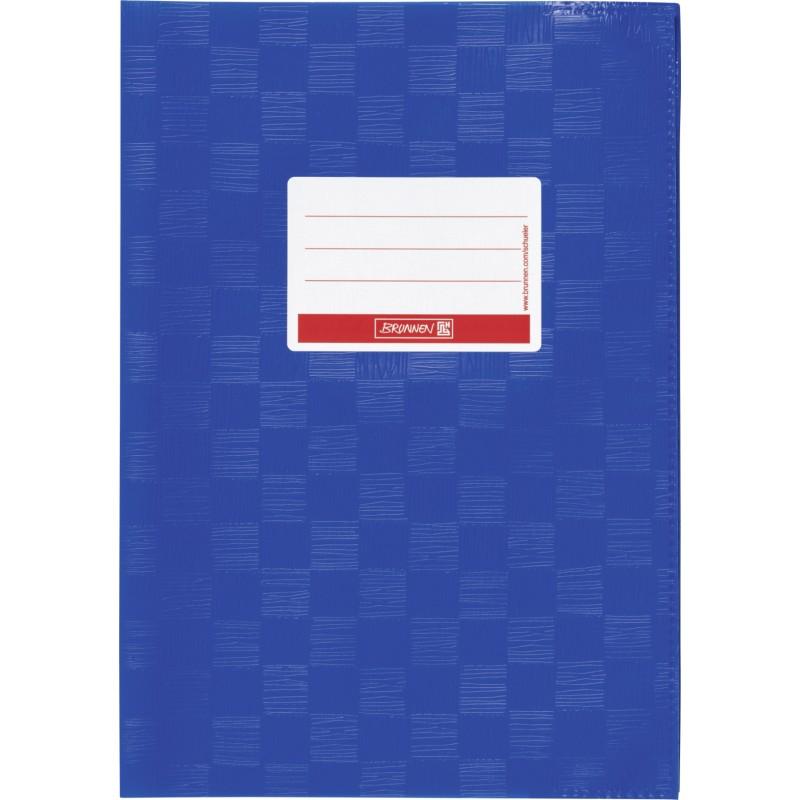 BRUNNEN Hefthülle · DIN A5 · gedeckt · enzianblau