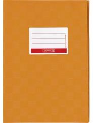 BRUNNEN Hefthülle · DIN A5 · gedeckt · orange