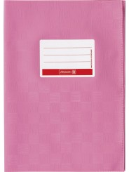 BRUNNEN Hefthülle · DIN A5 · gedeckt · rosa