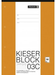 BRUNNEN Kieserblock 03C · (Lin3) · 50Bl