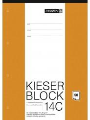 BRUNNEN Kieserblock 14C · unliniert/blanko · 50Bl