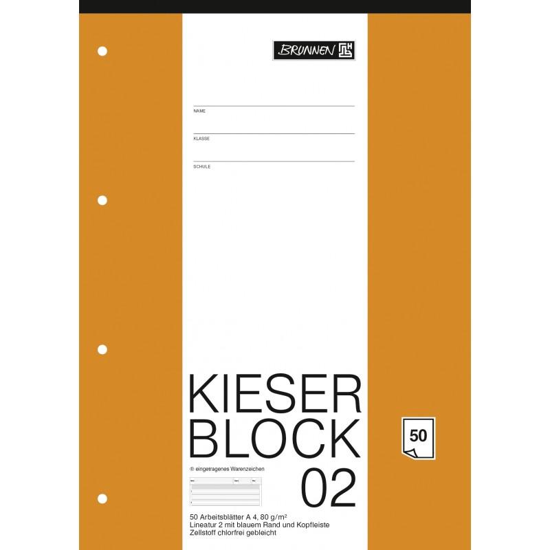 BRUNNEN Kieserblock 02 · (Lin2) · 50Bl