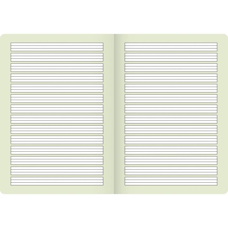 BRUNNEN Schulheft · DIN A4 · Vivendi · Lineatur 1   · 90 g/m² · 16 Blatt