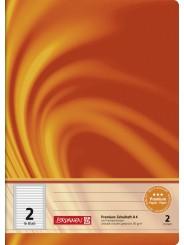 BRUNNEN Schulheft · DIN A4 · Vivendi · Lineatur 2   · 90 g/m² · 16 Blatt