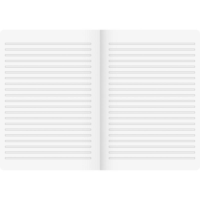 BRUNNEN Schulheft · DIN A4 · Vivendi · Lineatur 3   · 90 g/m² · 16 Blatt
