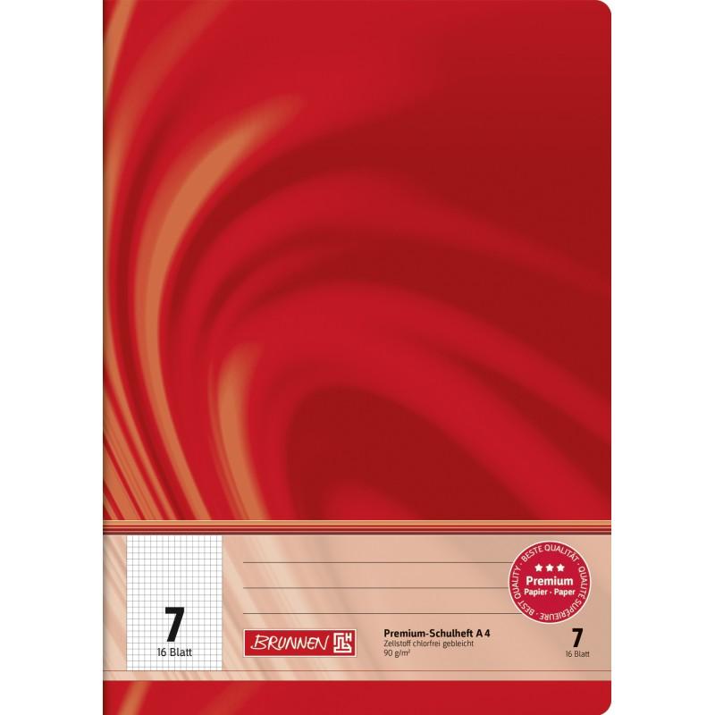 BRUNNEN Schulheft · DIN A4 · Vivendi · Lineatur 7   · 90 g/m² · 16 Blatt