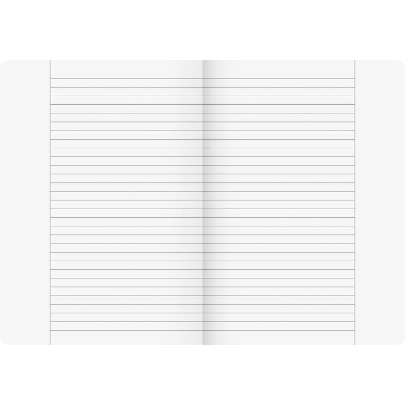 BRUNNEN Schulheft · DIN A4 · Vivendi · Lineatur25   · 90 g/m² · 16 Blatt
