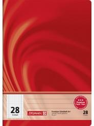 BRUNNEN Schulheft · DIN A4 · Vivendi · Lineatur 28   · 90 g/m² · 16 Blatt