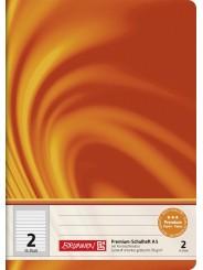 BRUNNEN Schulheft · DIN A5 · Vivendi · Lineatur 1 · 90 g/m² · 16 Blatt