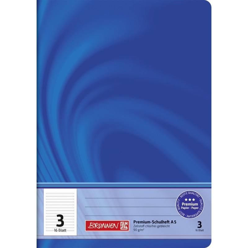 BRUNNEN Schulheft · DIN A5 · Vivendi · Lineatur 2 · 90 g/m² · 16 Blatt
