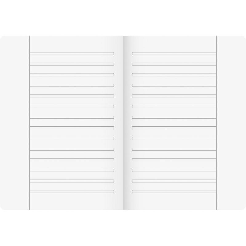 BRUNNEN Schulheft · DIN A5 · Vivendi · Lineatur 3R · 90 g/m² · 16 Blatt