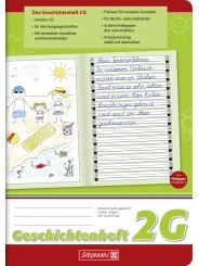 BRUNNEN Geschichtenheft A5 · Lineatur 2G · 80 g/m² · 16 Blatt