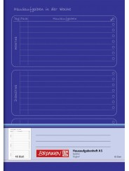 BRUNNEN Hausaufgabenheft · DIN A5 · 48 Blatt
